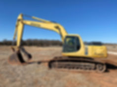 Komatsu PC200pc-6 Excavator for sale rent rental cheap used new cosignment equipment auction farm construction