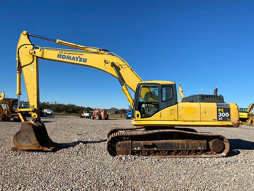 Komatsu PC300Lc-7eo excavator pc 300 lc - 7 eo trackhoe for sale auction bank repo consignment for sale rent rental farm construction dirt work