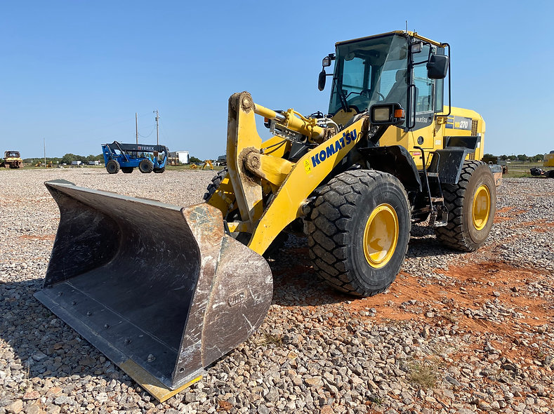 komatsu WA270 Wheel Loader For Sale