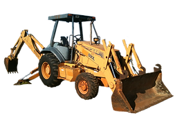 Used Case Backhoe For Sale rent consignment bank repo auction farm construction loader