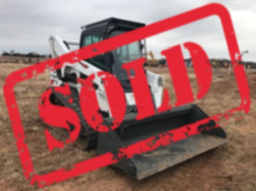 Bobcat Sold t870 tracks tracked kubota john deere cat  tires new used auction repo consignment