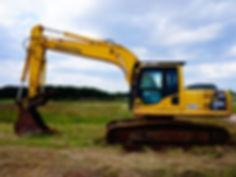 Komatsu PC200LC-8 Forestry Excavator