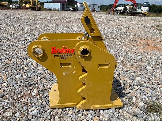 Excavator pulverizer bodine 200 clamb grapple new used for sale aucrtion bank repo consignment for sale rent