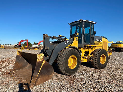 John Deere 624J 624 J Wheel Front Loader For Sale Auction bank repo consignment farm dirt work construction tool carrier