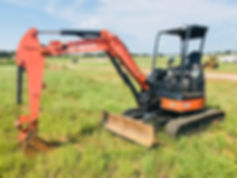 Hitachi John Deere Mini Trackhoe For Sale