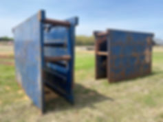 Two Trench boxes trenching trencher for sale cheap used auction