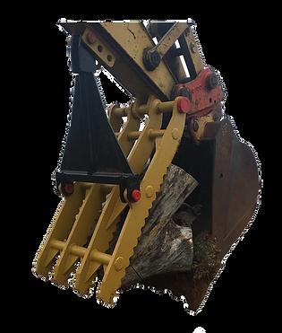 excavator backhoe trackhoe manual rigid hydraulic thumb for sale new used bracket