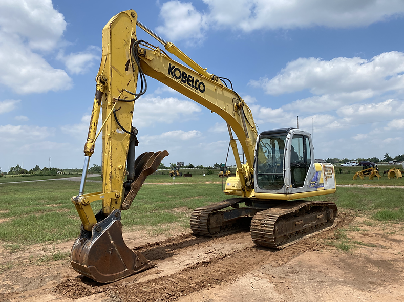 Kobelco SK160LC Excavator legal load 160 trackhoe for sale hydraulic thumb cheap used auction bank repo farm construction scrap consignment