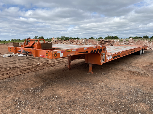 landoll equipment traveling tail trailer for sale