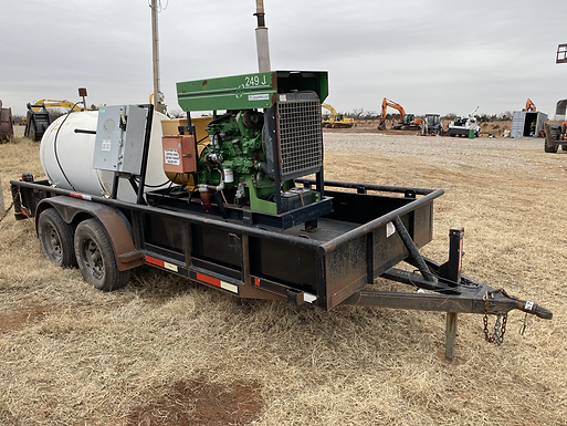 John Deere Motor 40KW 40 kw generator trailer for sale rent rental auction bank repo farm consignment cheap used new bank repo consignment