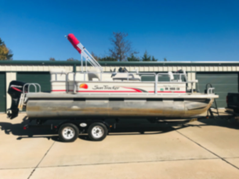 2008 Sun Tracker 200 Party Barge 20' Pontoon Boat For Sale