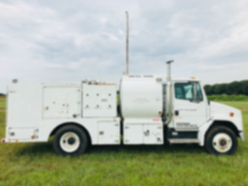 Service & Fuel Truck