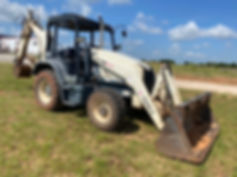 terex mecalac tlb840 tlb 840 backhoe laoder for sale rent auction bank repo rent rental farm oil consignment ok oklahoma