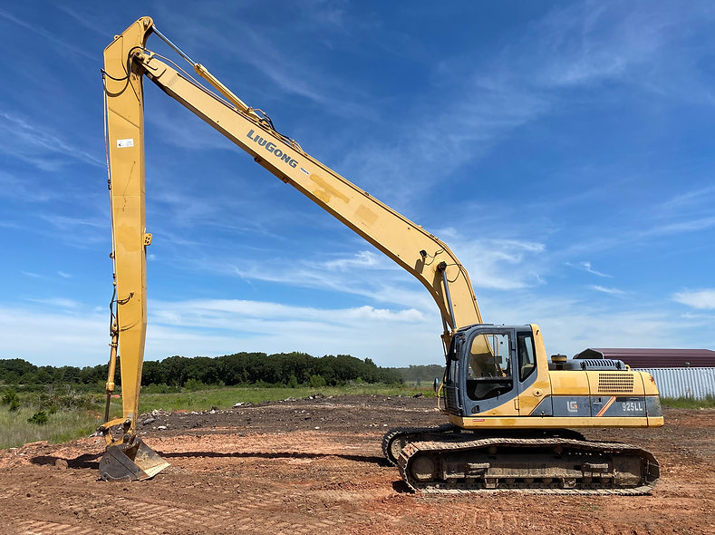 LiuGong 925LL Excavator For sale Long Arm