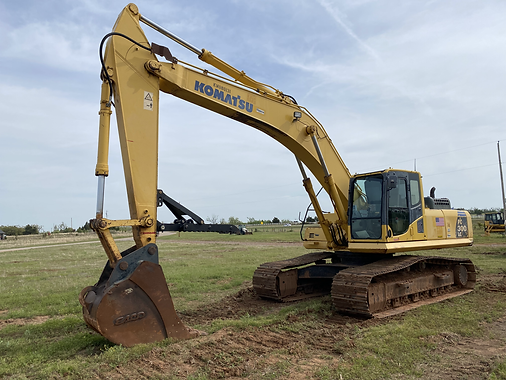 komatsu pc300lc pc 300 lc trackhoe excavator for sale ranch farm construction rent rental auction bank repo cheap used new