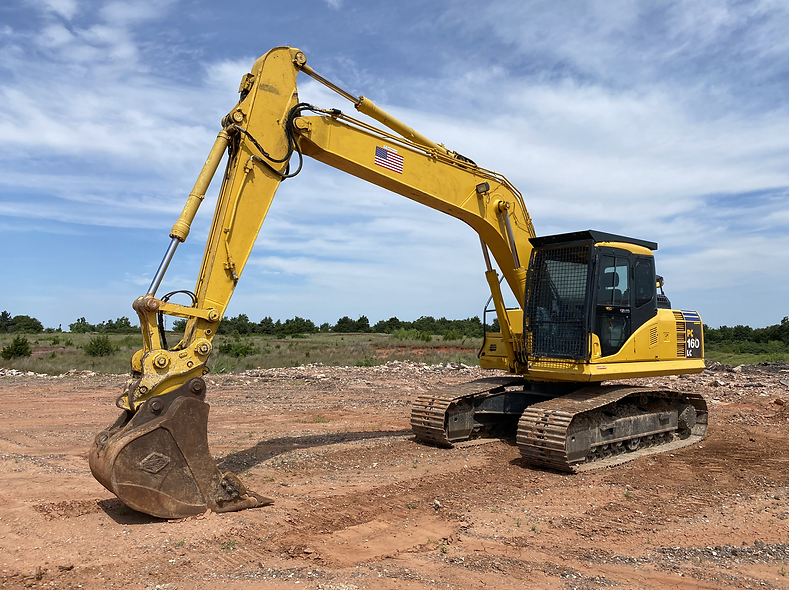 Komatsu 160 Hydraulic Track Excavator For Sale used Rent Rental aution bank repo consignment farm ranch forestry construction dirt work cheap lease return bank owned