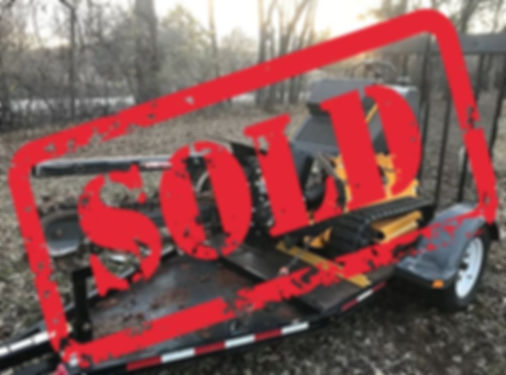 ride on trencher for sale sold
