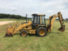 CAT 416 B Backhoe Tractor Used Loader For Sale