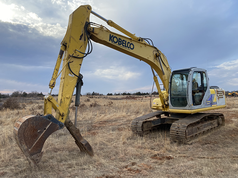 kobelco sk160lc sk 160 LC Trackhoe legal load excavator for sale rent rental auction bank repo consignment farm hydraulic thumb