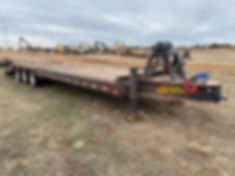 belshe t10 Equipment Trailer For Sale ok oklahoma texas tx missouri kansas ks nebraska ne new mexico nm arizona az colorado co illinois il lousiana la rent auction bank repo consignment cheap new used triple axle