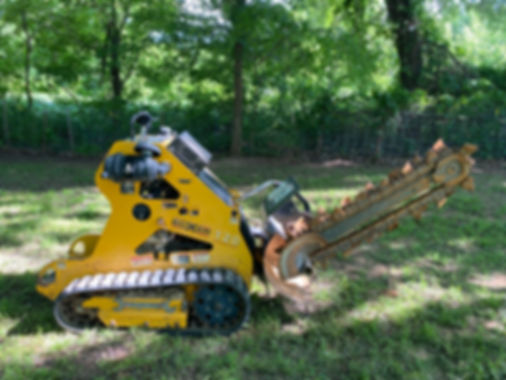 Mobark Boxer 120 Trencher