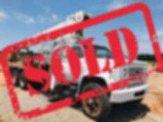 GMC Cane Chevy Chevrolet Boom Truck Sold