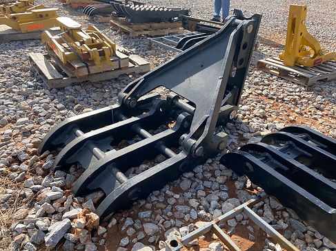 32 x 62 manual excavator thumb finger for sale new used cheap