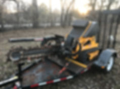boxer 120 trencher ride-on for sale cheap used rent rental lease consignment auction repo