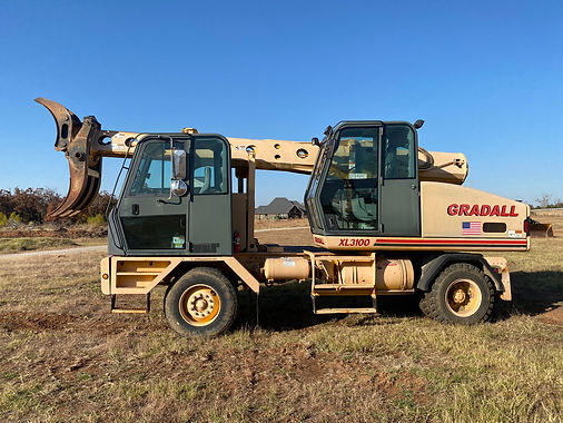 Gradall XL3100 XL 3100 Tree Grapple Excavator Wheeled Rubber For Sale Tree Grapple For Sale Auction ban krepo consignment Ok oklahoma