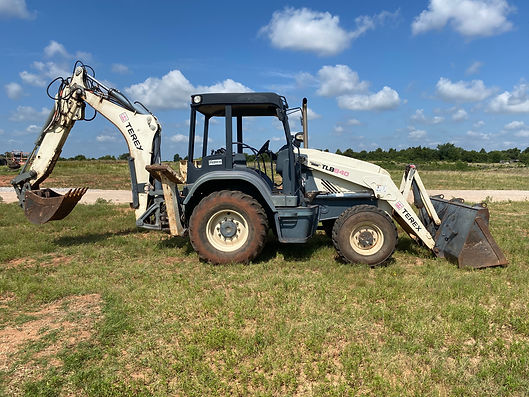 Terex TLB840 Backhoe Loader extendahoe extendable dipper loader mecalac for sale