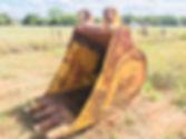 "46 inch "" mpm crane dragline excavator bucket"