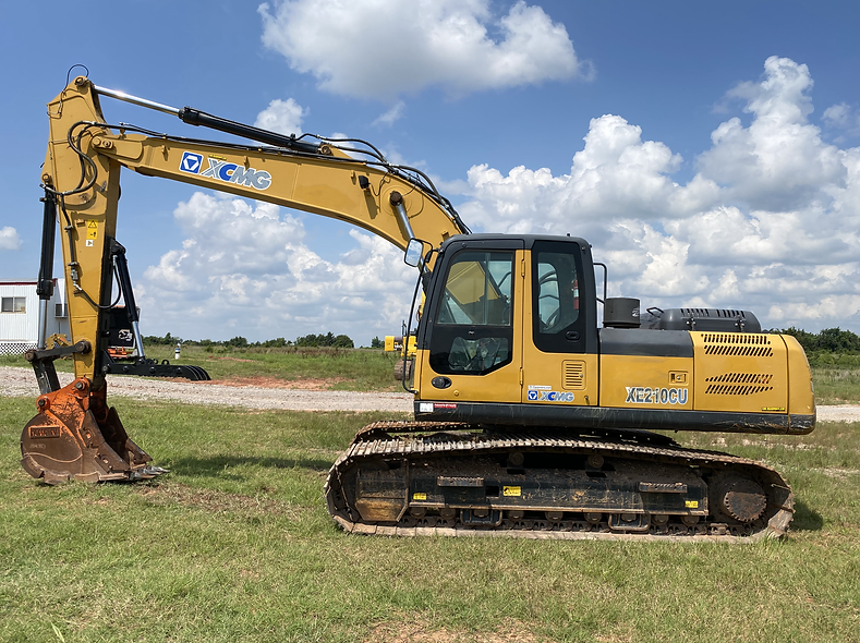 xcmg 210 excavator for sale cheap used ren rental auction bank repo ranch farm construction lease return auction repo