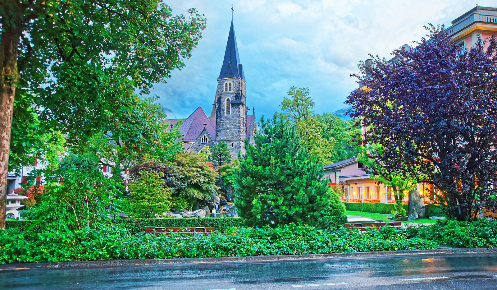 Canva - Church in Interlaken of Bern Can