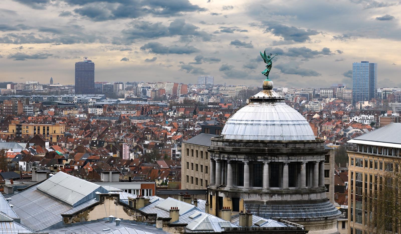 Canva - Aerial view of Brussels, Belgium