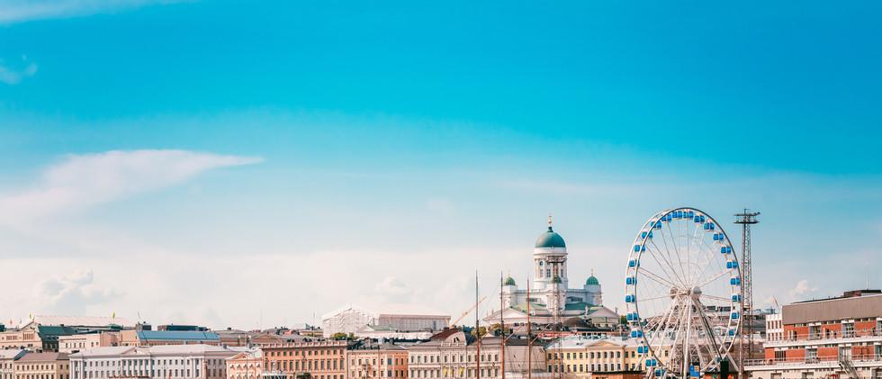 Canva - Embankment In Helsinki At Summer