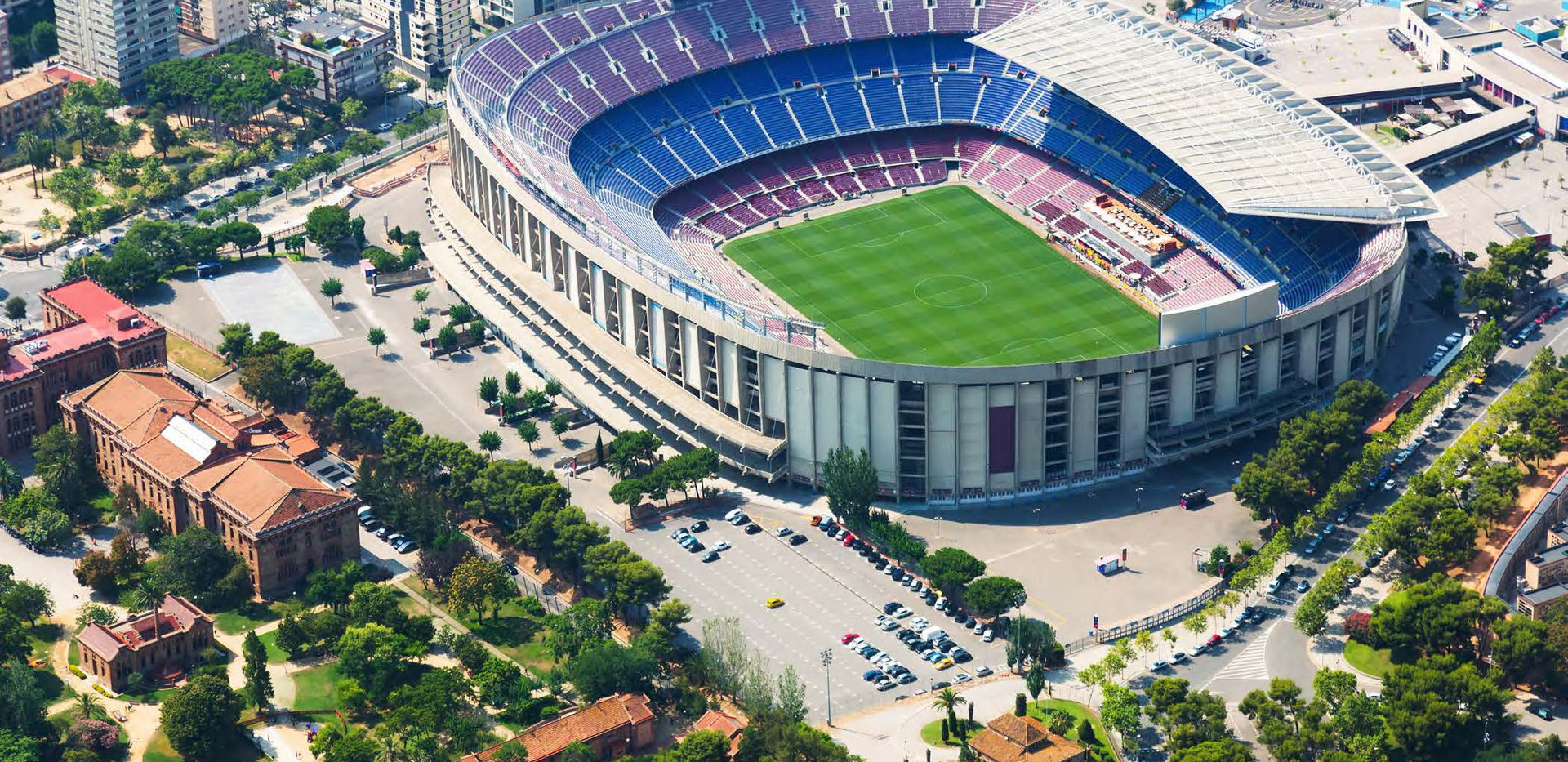 Canva - Stadium of Barcelona from Helico