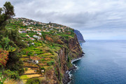 Coastline near Ribeira Brava (Madeira).