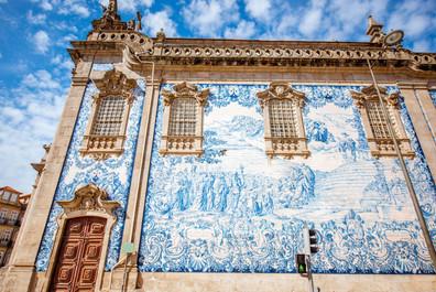 Azulejos in Portugal.