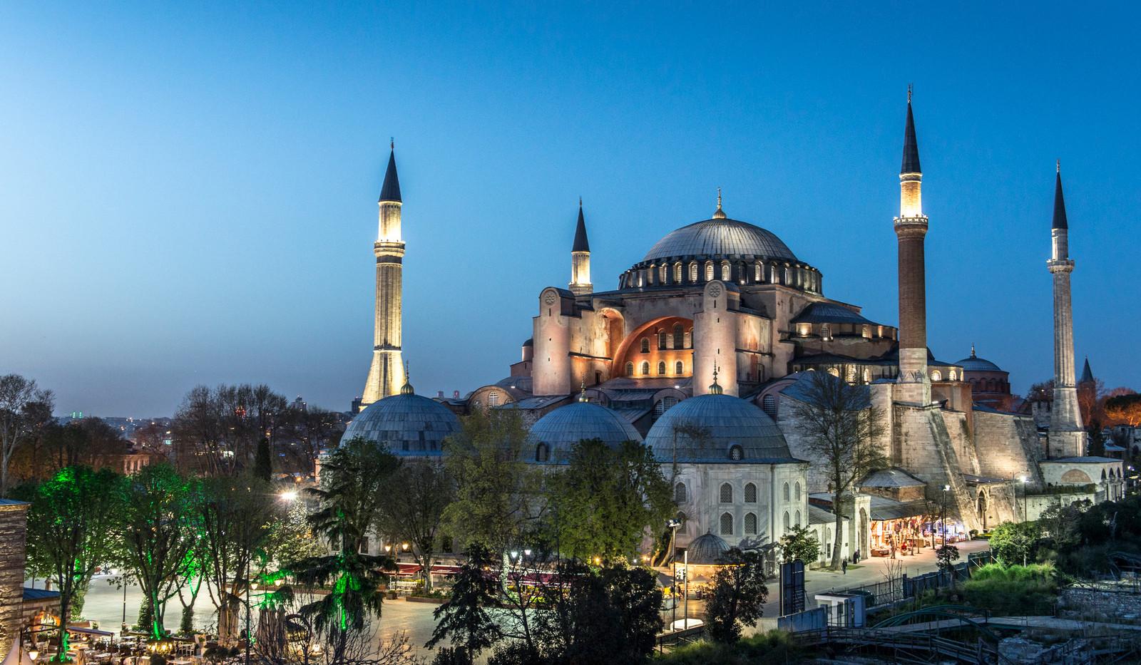 Canva - Hagia Sophia in Istanbul, Turkey