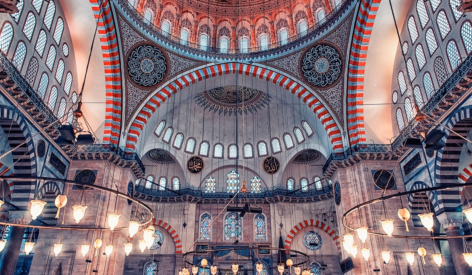 Canva - Ceiling of the Suleymaniye Camii