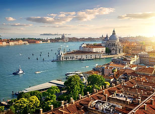 Canva - Panoramic aerial view of Venice.