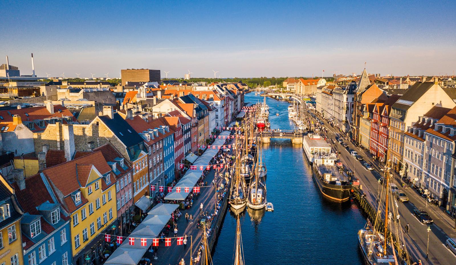 Canva - Copenhagen, Denmark. New Harbour