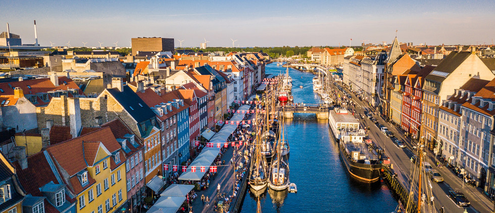 Canva - Copenhagen, Denmark. New Harbour