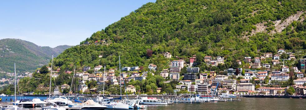 Canva - Como City and Lake near Milan in