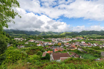 Furnas in the summer.