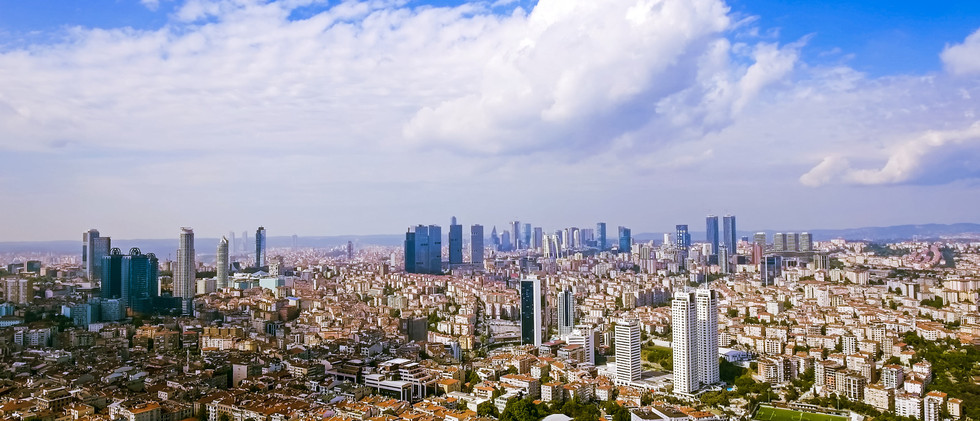 Canva - Aerial View Of Skyscrapers In Is