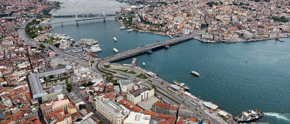 Canva - Aerial view of Istanbul. Old cit