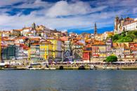 Porto skyline.