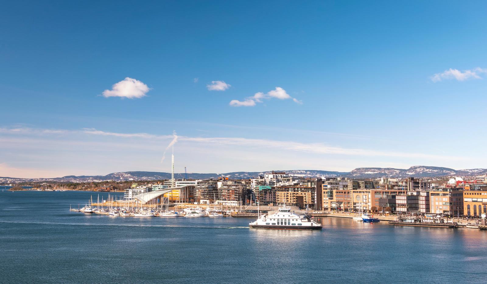 Canva - Oslo city skyline at Oslo Harbou