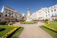 Coimbra City in Portugal.
